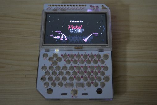 pocket chip touch screen  