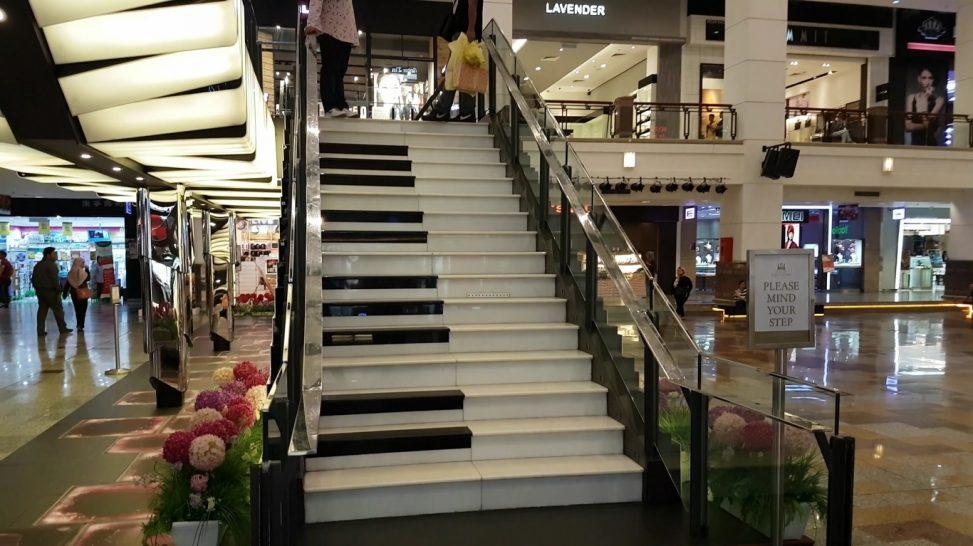 Piano staircase grand musical stairs berjaya times square piano staircase grand musical stairs berjaya times square shopping mall kuala lumpur malaysia publicscrutiny Images